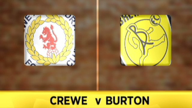 Highlights: Crewe 3-2 Burton
