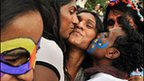 Gay rights march in India