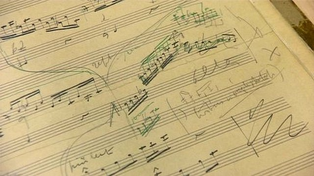 Elgar manuscript