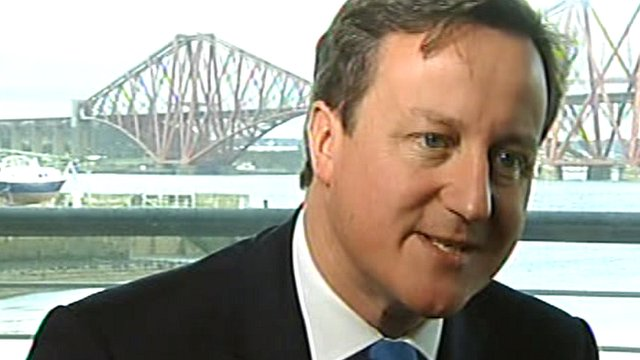Prime Minister David Cameron says he believes in the United Kingdom 'head, heart and soul'.