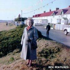 Margaret Thatcher in the Falklands