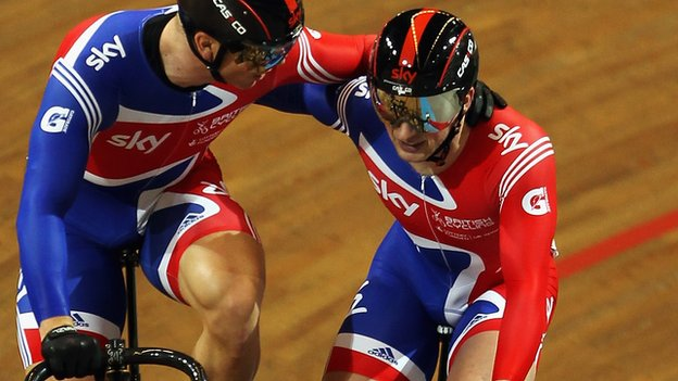 Sir Chris Hoy and Jason Kenny