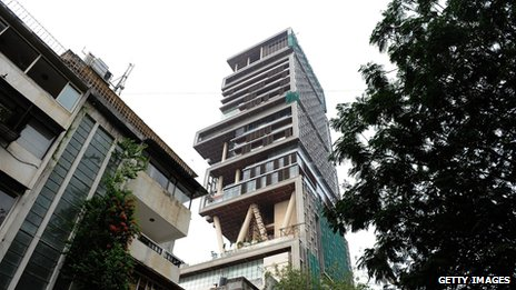 Antilla Tower, Mumbai