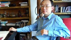 Activist Yu Jie