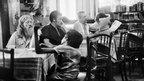 At a cafe (Photo: Pablo Bartholomew)