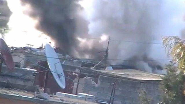 Shelling in Homs