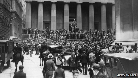 Wall Street after the 1929 crash