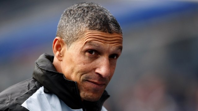 Birmingham boss Chris Hughton