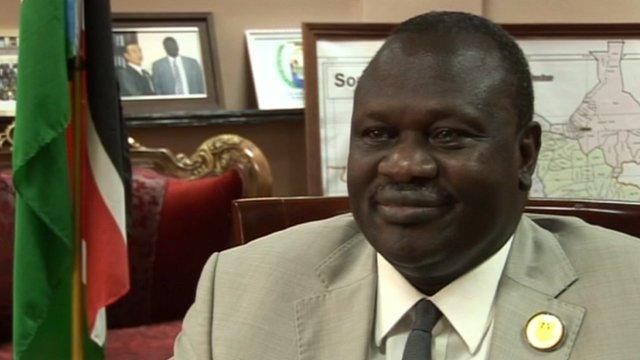 Vice-President of South Sudan, Riek Machar