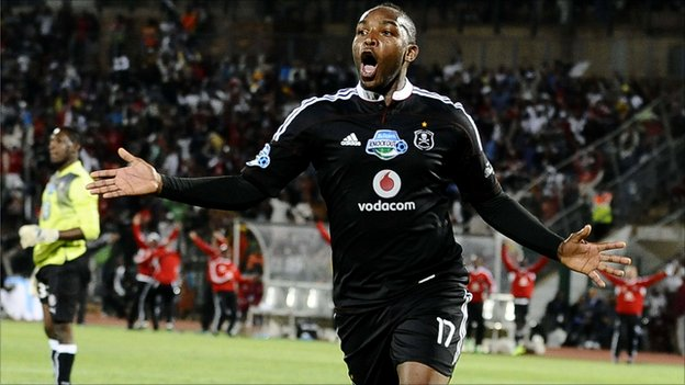 Benni McCarthy could not score for Orlando Pirates on Sunday