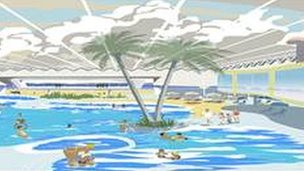 An artists' impression of how Tropicana could look