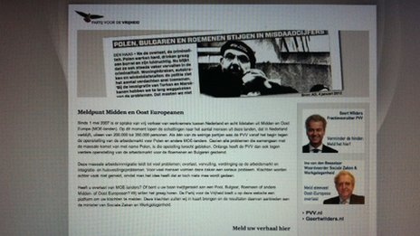 PVV's website