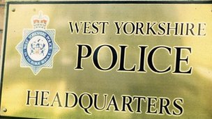 West Yorkshire Police sign