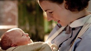 Jessica Laine in Call the Midwife
