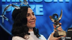 PJ Harvey wins the Mercury Prize