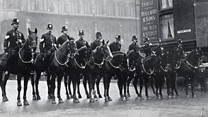 Norwich City Police Mounted Branch 1909