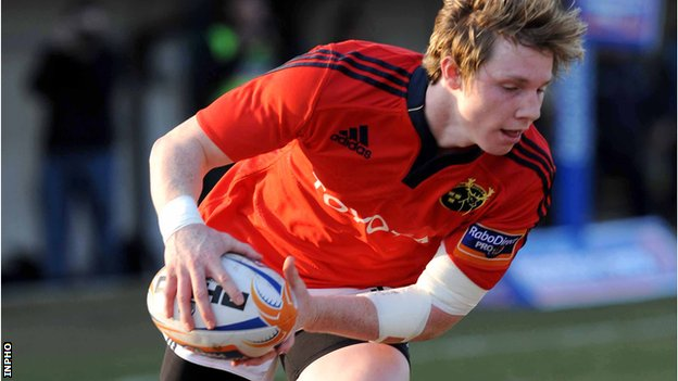 Munster&#039;s Danny Barnes