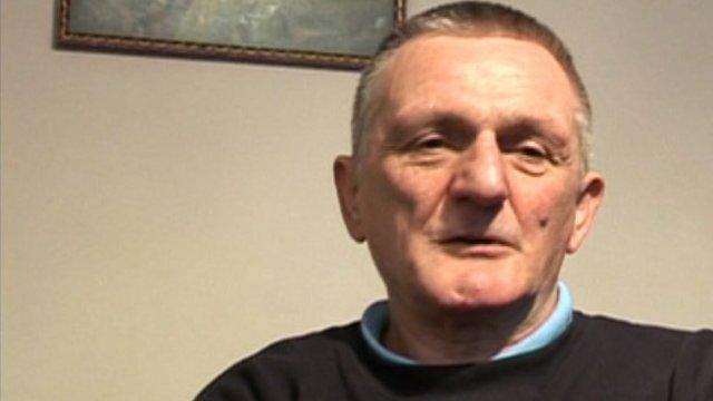 Krzsztof, who works for charity Barka UK