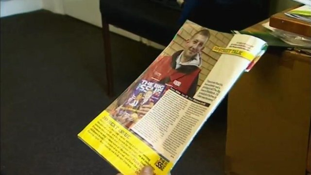 The Big Issue newspaper