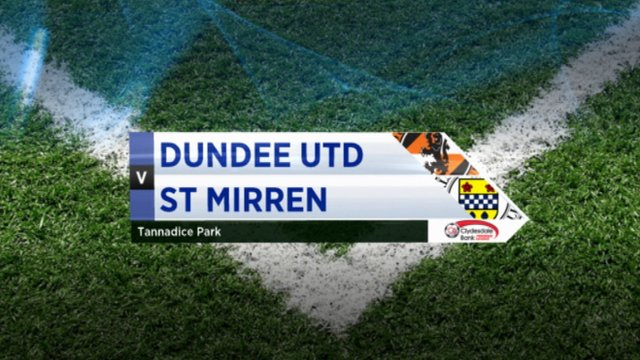 Highlights - Dundee Utd 0-0 St Mirren