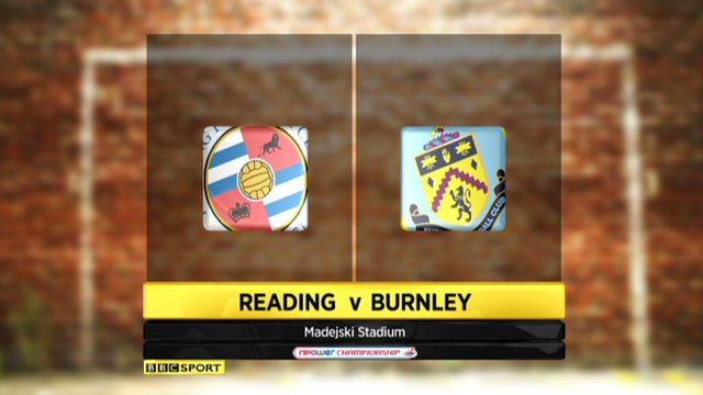 Highlights - Reading 1-0 Burnley