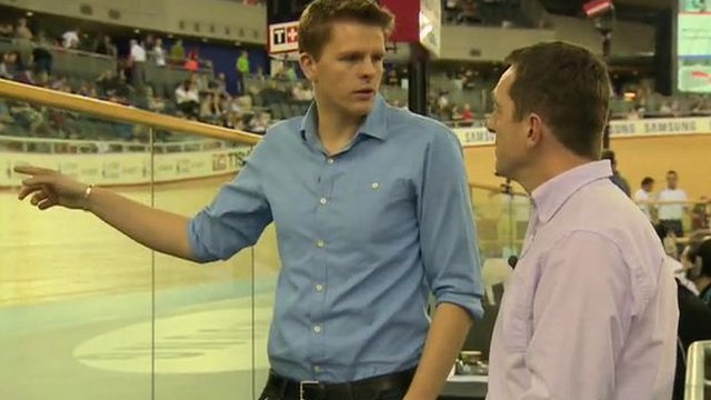 Olympic Velodrome guide