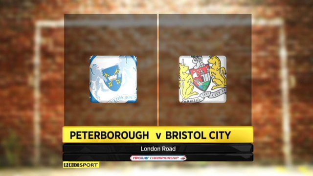Highlights - Peterborough 3-0  Bristol City