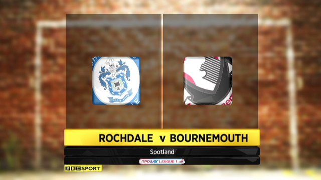 Highlights - Rochdale 1-0 Bournemouth