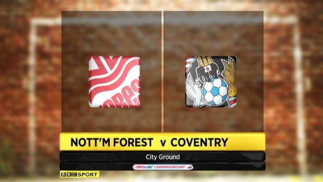 Nottingham Forest 2-0 Coventry