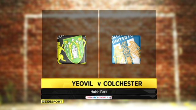 Highlights - Yeovil 3-2 Colchester