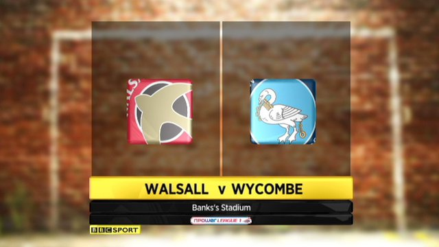 Highlights - Walsall 2-0 Wycombe