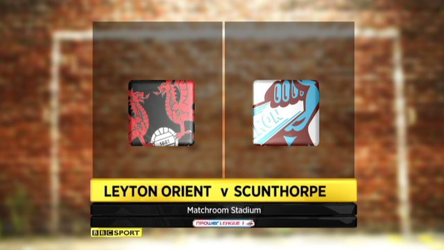 Highlights - Leyton Orient 1-3 Scunthorpe