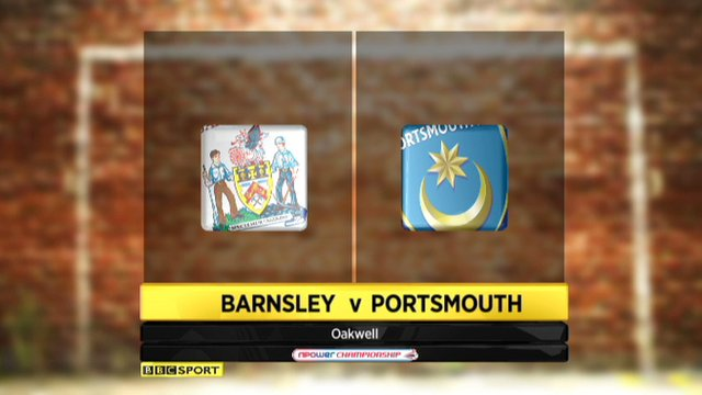 Barnsley 2-0 Portsmouth