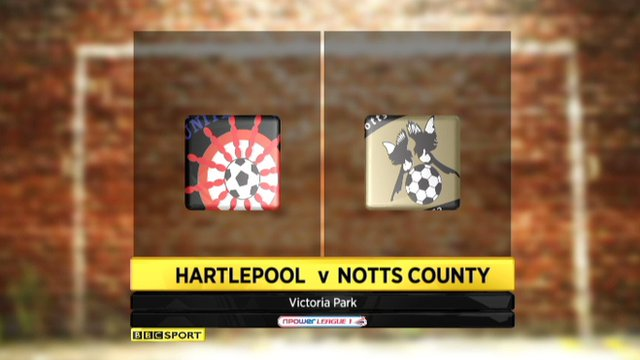 Highlights - Hartlepool 3-0 Notts County