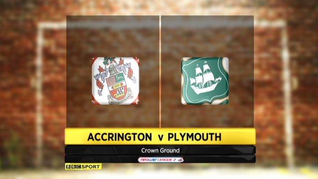 Highlights - Accrington 0-4 Plymouth