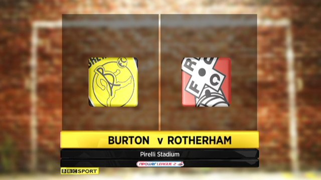 Highlights - Burton Albion 1-1 Rotherham