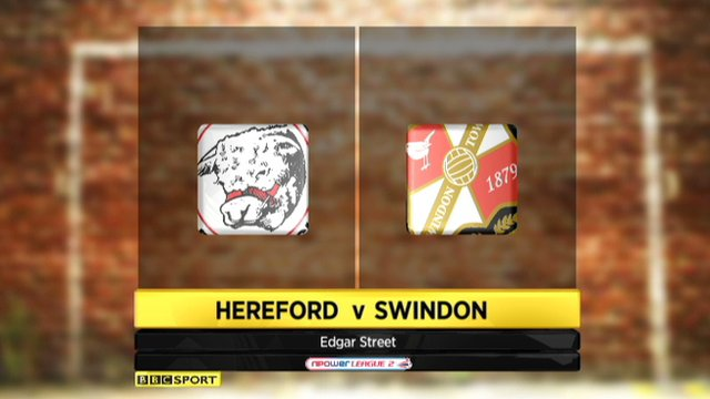 Hereford 1-2 Swindon