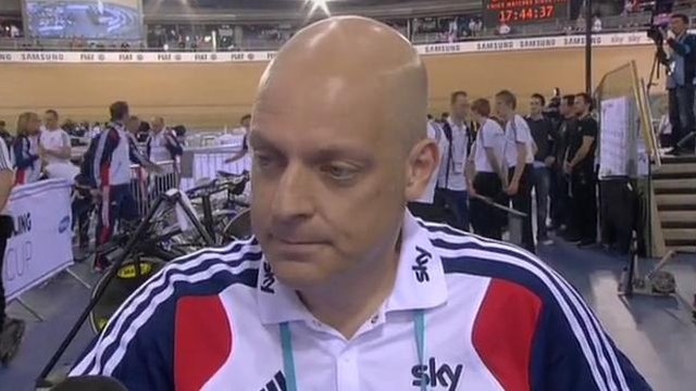GB cycling Performance Director David Brailsford