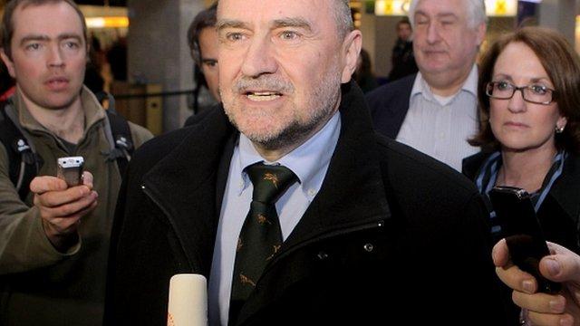 International Atomic Energy Agency chief inspector Herman Nackaerts