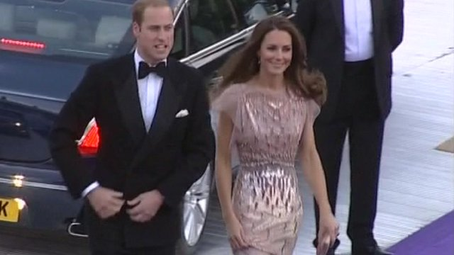 The Duke and Duchess of Cambridge
