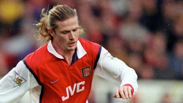Former Arsenal midfielder Emmanuel Petit