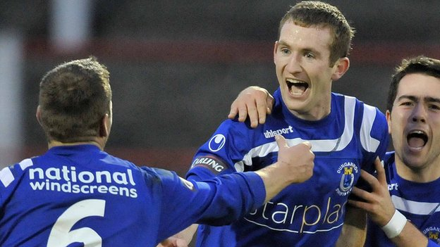 Dermot McCaffrey joins the Brandywell club in a two-year deal