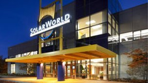 Solarworld headquarters in Oregon