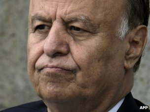 Yemeni Vice-President Abdrabuh Mansur Hadi (file image from September 2011)