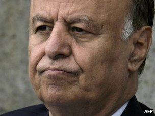 Yemeni Vice-President Abdrabuh Mansur Hadi (file image from September 2011)