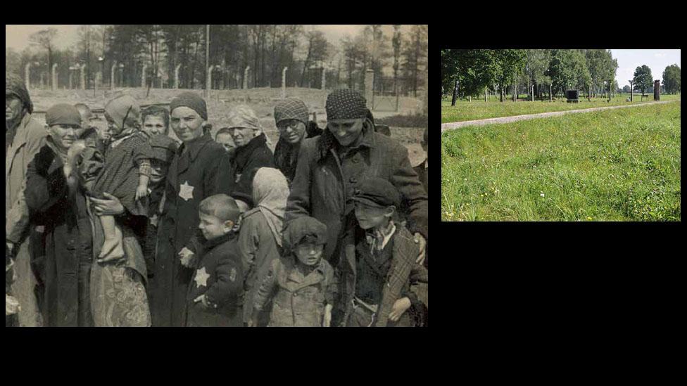 Auschwitz-Birkenau, antes y ahora.