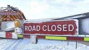 A66 snow gate
