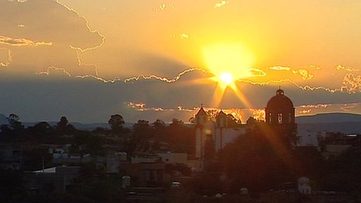 Sunset over San Miguel