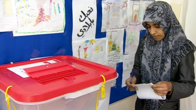 Voting in Misrata 