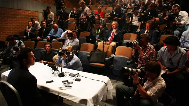 Ricky_Ponting at his press conference